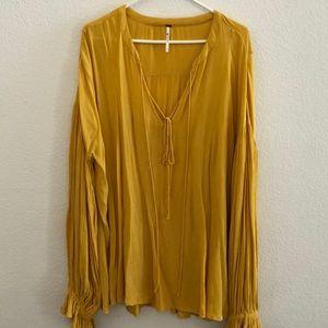 XL Free People Boho blouse